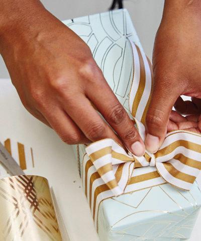 The Art of Giftwrap for Wedding Edition   thinkmakeshareblog.com