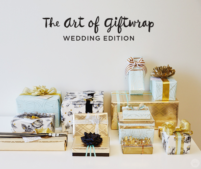 Wedding gift wrap ideas featuring Hallmarks Classic Luxury collection ...