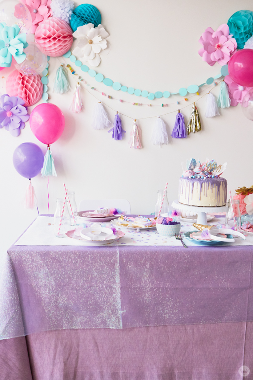 Unicorn party ideas: Start with lots of sparkle - Think.Make.Share.