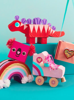 Kids' Valentine Box ideas: Inspiration from Hallmark artists