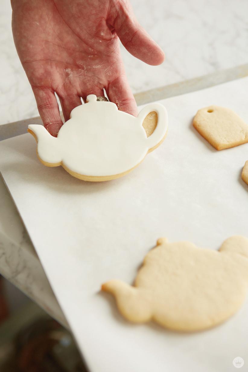 Watercolor Cookies | thinkmakeshareblog.com