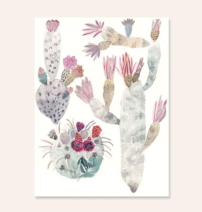 Cactus Trio by Michelle Morin   thinkmakeshareblog.com
