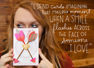 Send a card just because! | thinkmakeshareblog.com