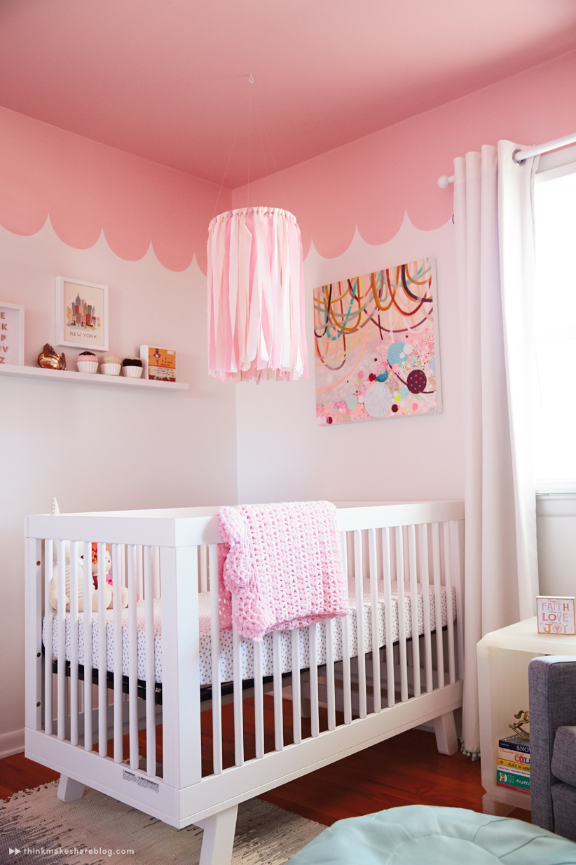 Hallmark designer Laura Linebarger gives us a tour of her daughter's nursery | thinkmakeshareblog