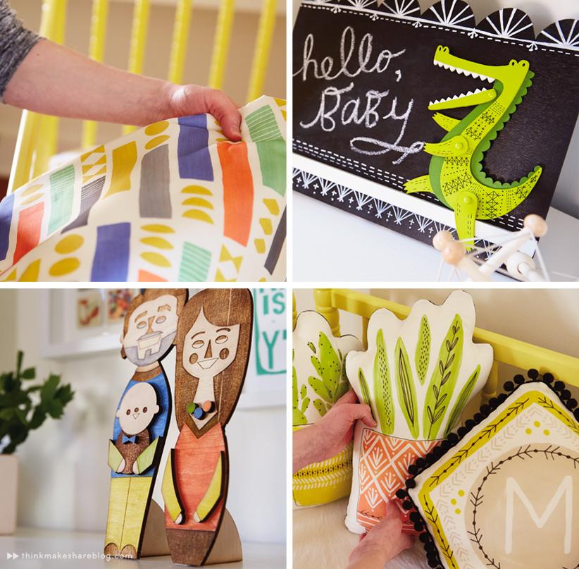 Hallmark designer Cece Merkle shares her nursery | thinkmakeshareblog