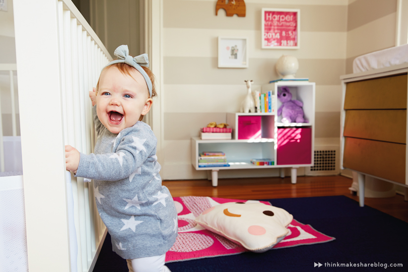 Hallmark Studio DIrector Jeff Shumway shares his daughter's nursery | thinkmakeshareblog