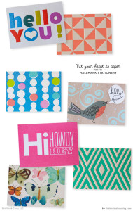 Put Your Heart to Paper with Hallmark Stationery
